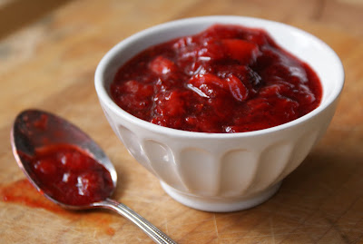 Strawberry+Jam+Bowl Skillet Strawberry Jam (with Vanilla)