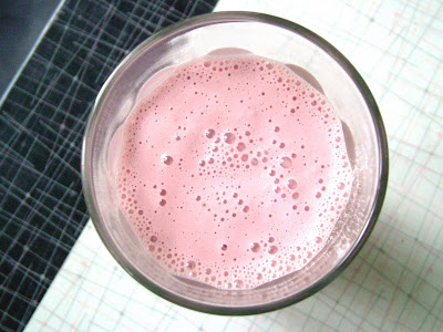 Red+Wine+Milkshake Day 262: Turkey, Cranberry and Brie Panini and Red Wine Milkshakes