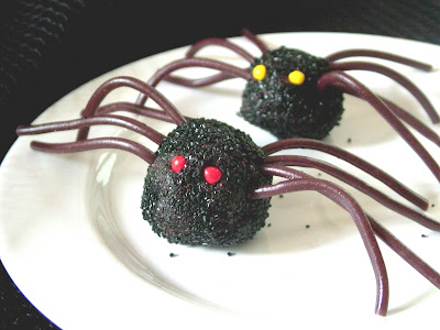 Truffle+Spiders+2 Day 304: Halloween Party Food and Dinner at the Farm