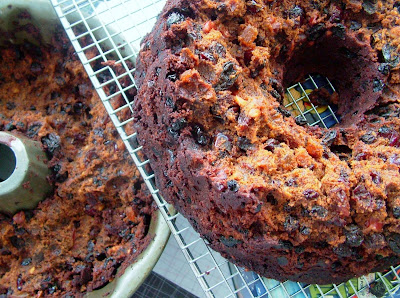 Fruitcake   broken Day 355: Ham, Biscuits and a Fruitcake disaster
