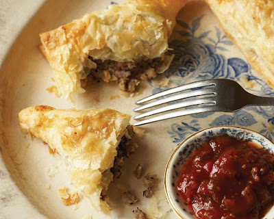 Tourtiere+Turnovers cropped Day 351: Tourtière with Apple Plum Chutney