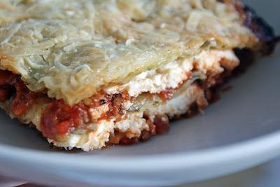 Spinach+Lasagna Ricotta Lasagna with Handmade Spinach Pasta