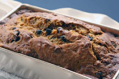 Pumpkin+bread+2 Pumpkin Chocolate Chip Loaf Cake