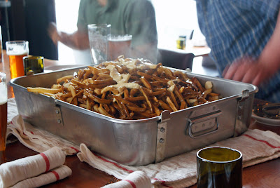 CharCut+Poutine+1 Plantain Fritters and a 35 lb. Poutine