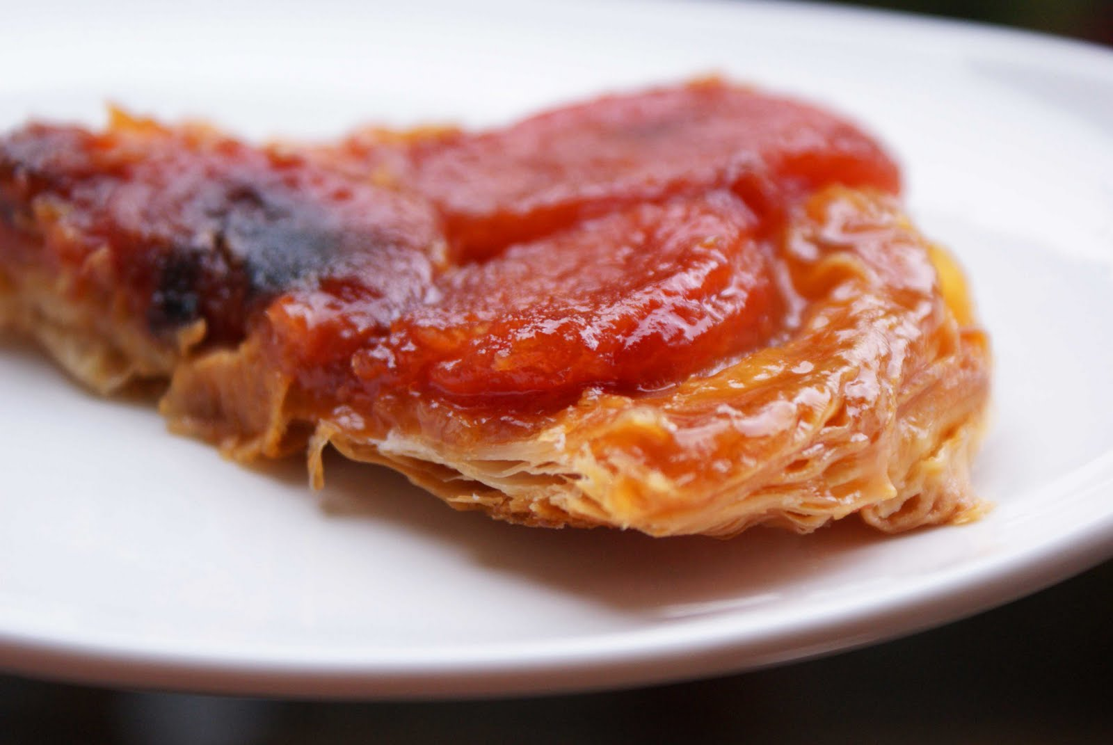 Upside-Down Heirloom Tomato Tatin Recipe — Dishmaps