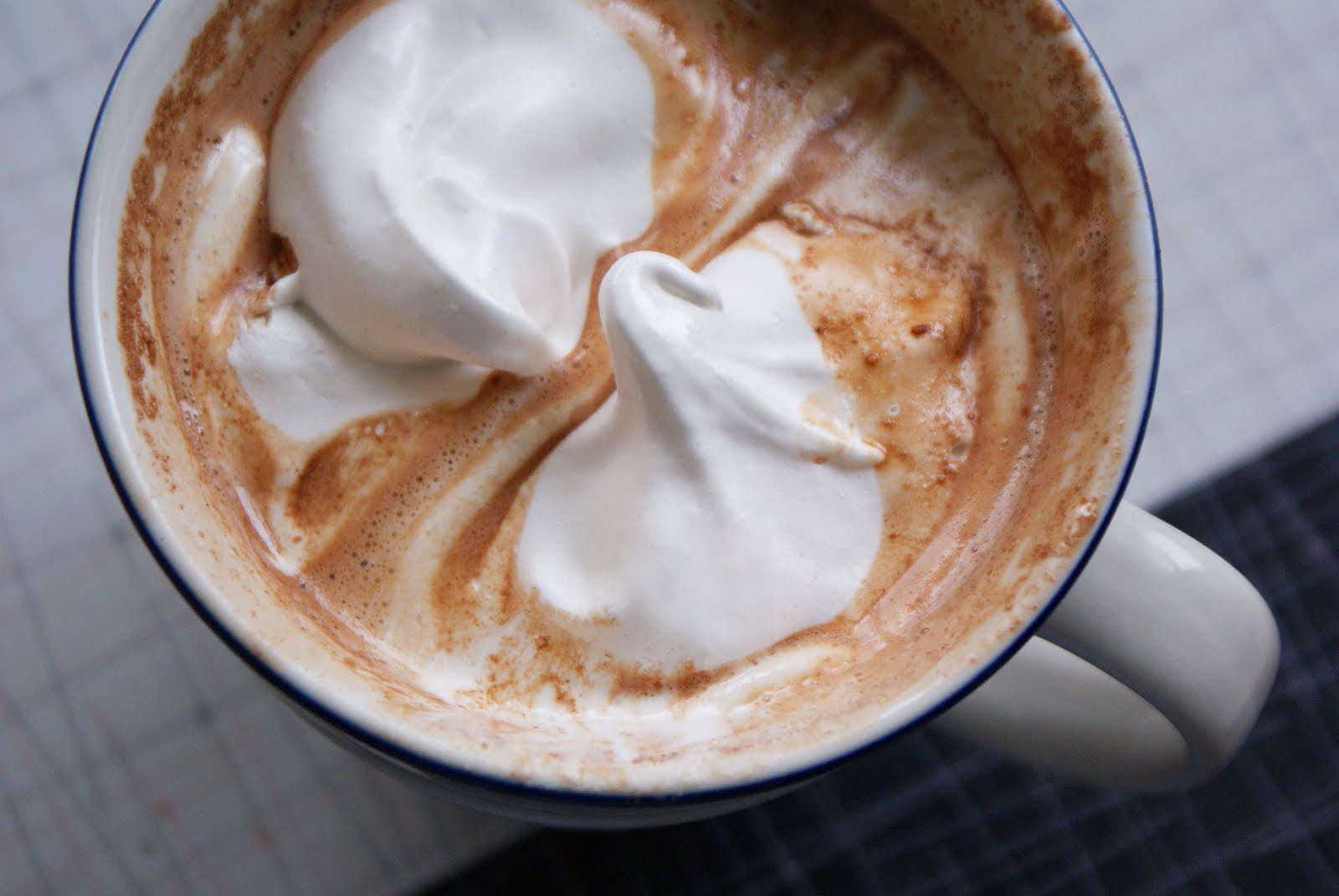 Salted Peanut Butter Hot Chocolate - Dinner With Julie