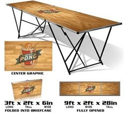 9ft beer pong table