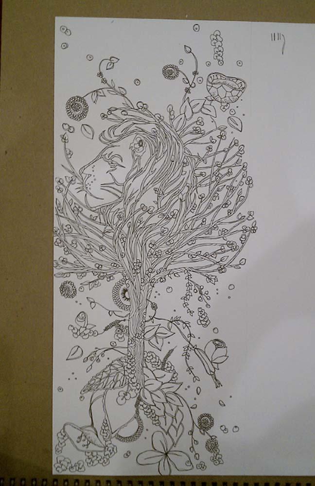 Meera Lee Illustration Design Blog Tattooed Lions And