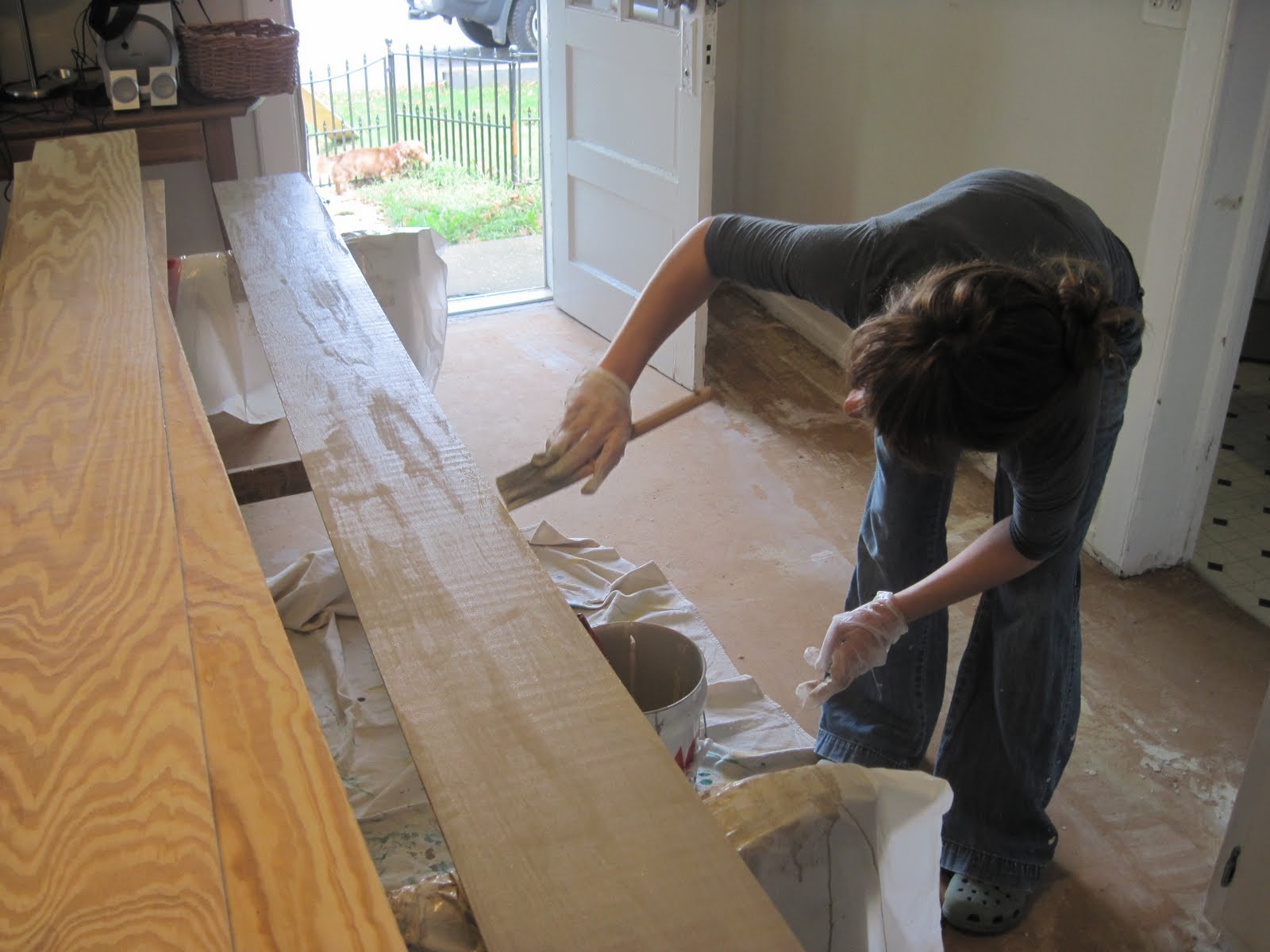 Back To Home Design Wide Plank Plywood Flooring How To