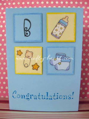 Congratulations on Your Baby Boy Card