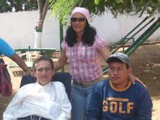 Ítalo Violo, Grasmari Yánez y Miguel Martínez