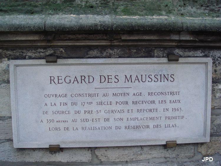 Paris bise art regard des maussins for B b porte des lilas