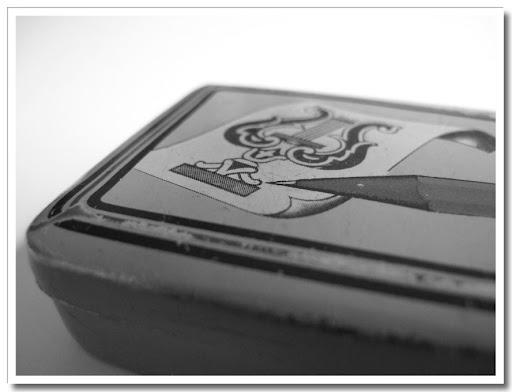 Pennask, svartvit 1