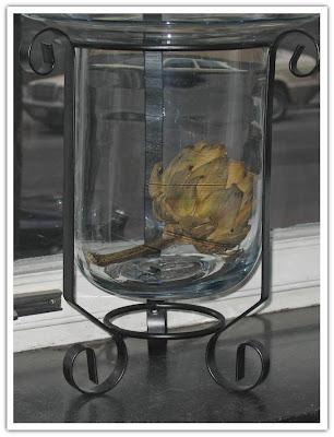 Kronärtskocka i glasmojängen