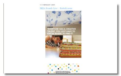 IKEA Family-artikel om Constanca