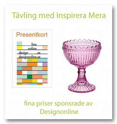 Tävling, vinster från Designonline