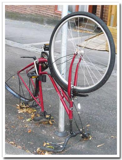 Före detta cykel