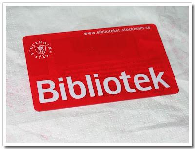 Bibliotekskort