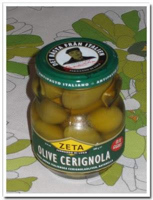 Goda oliver i fina burkar