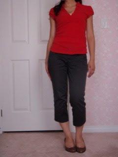 Casual Work Wear: Capri Pants
