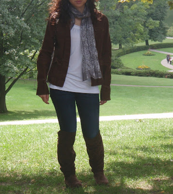 OOTD: Getting ready for Fall and making some new friends