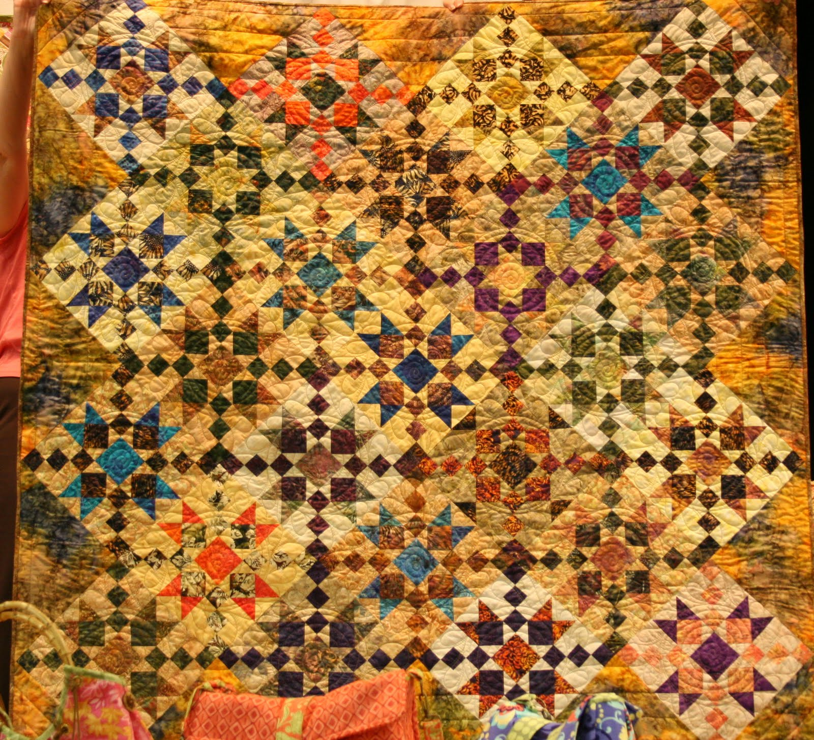 Utah Valley Quilt Guild August Show And Tell
