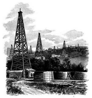 La industria petrolera fue la única que siguió desarrollandose durante la Revolución