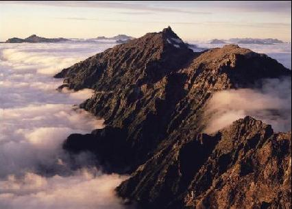 Pé do Monte Espiritual Montanhas-eco