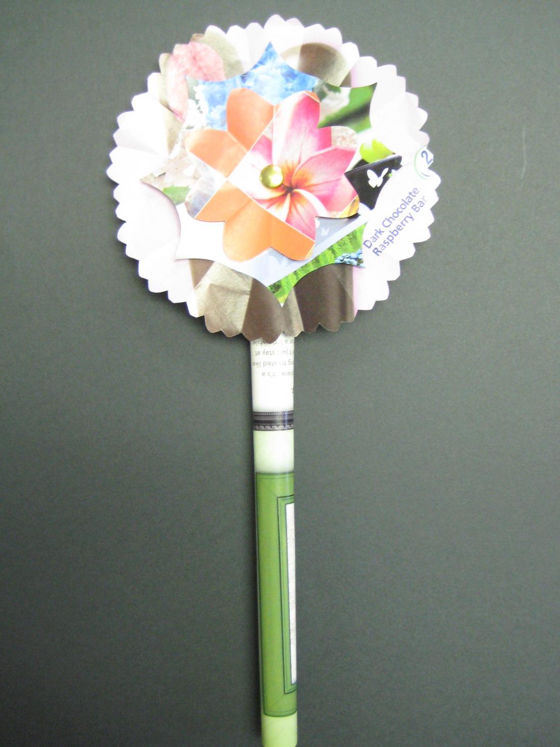 recycled magazine flowers  u2022 teachkidsart