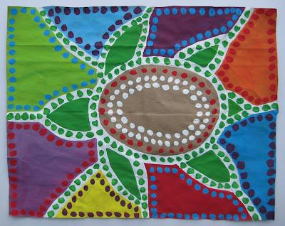 Teacher workshop teach kids multicultural art for Teaching kids to paint on canvas