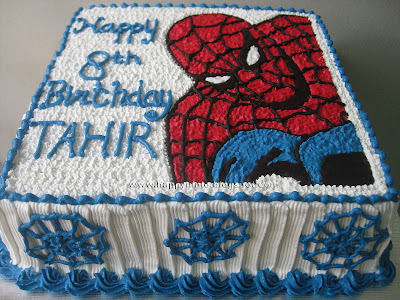 Spiderman Birthday Cake on Happyninie Cakes  Spiderman Cake