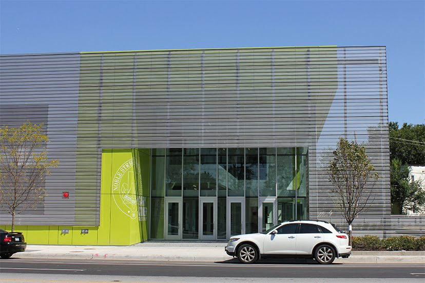 ArchitectureChicago PLUS Gary Comer College Prep John Ronan Architects
