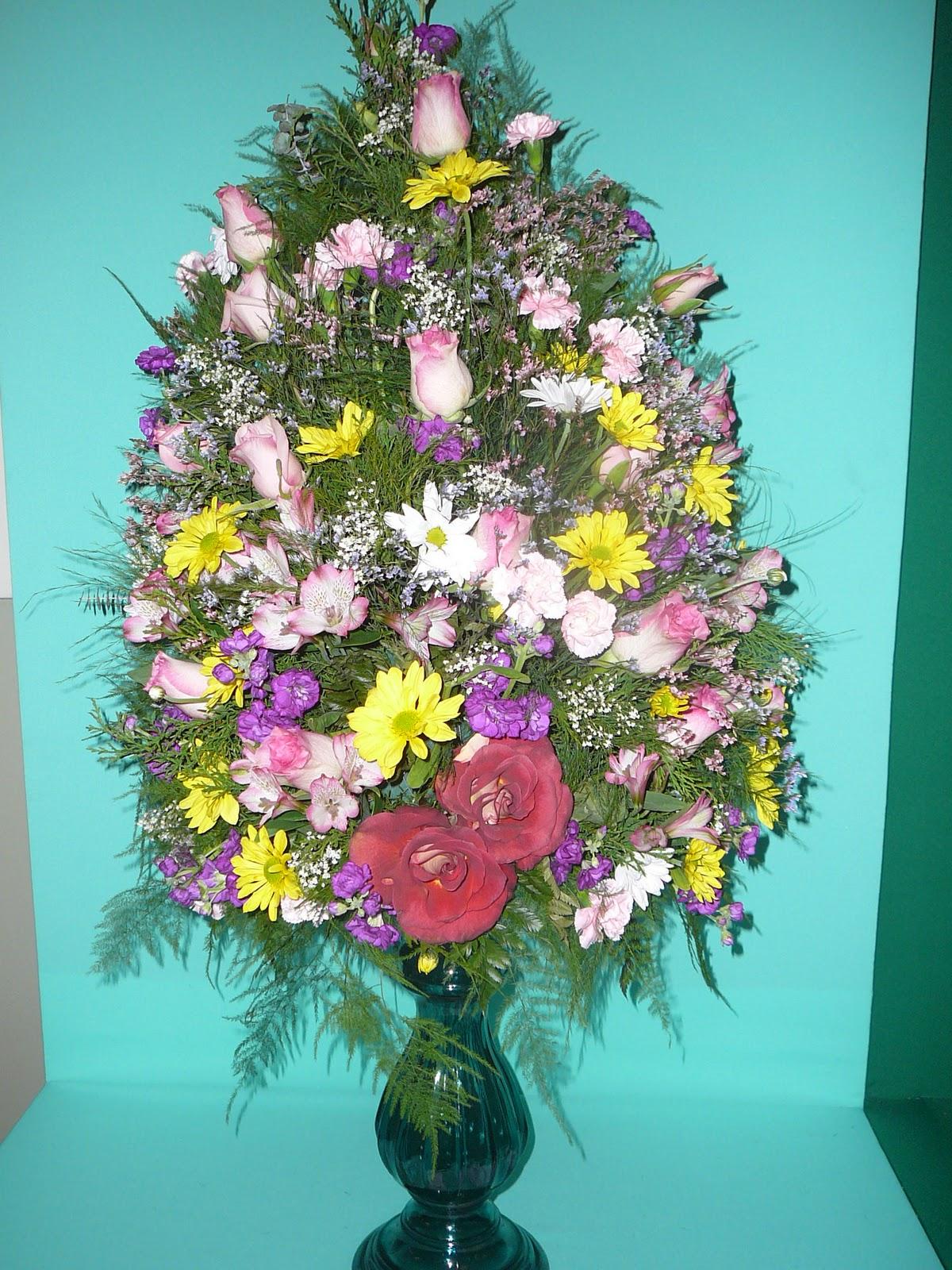Arreglos florales creativos arreglo tradicional americano de masa - Arreglos florales creativos ...