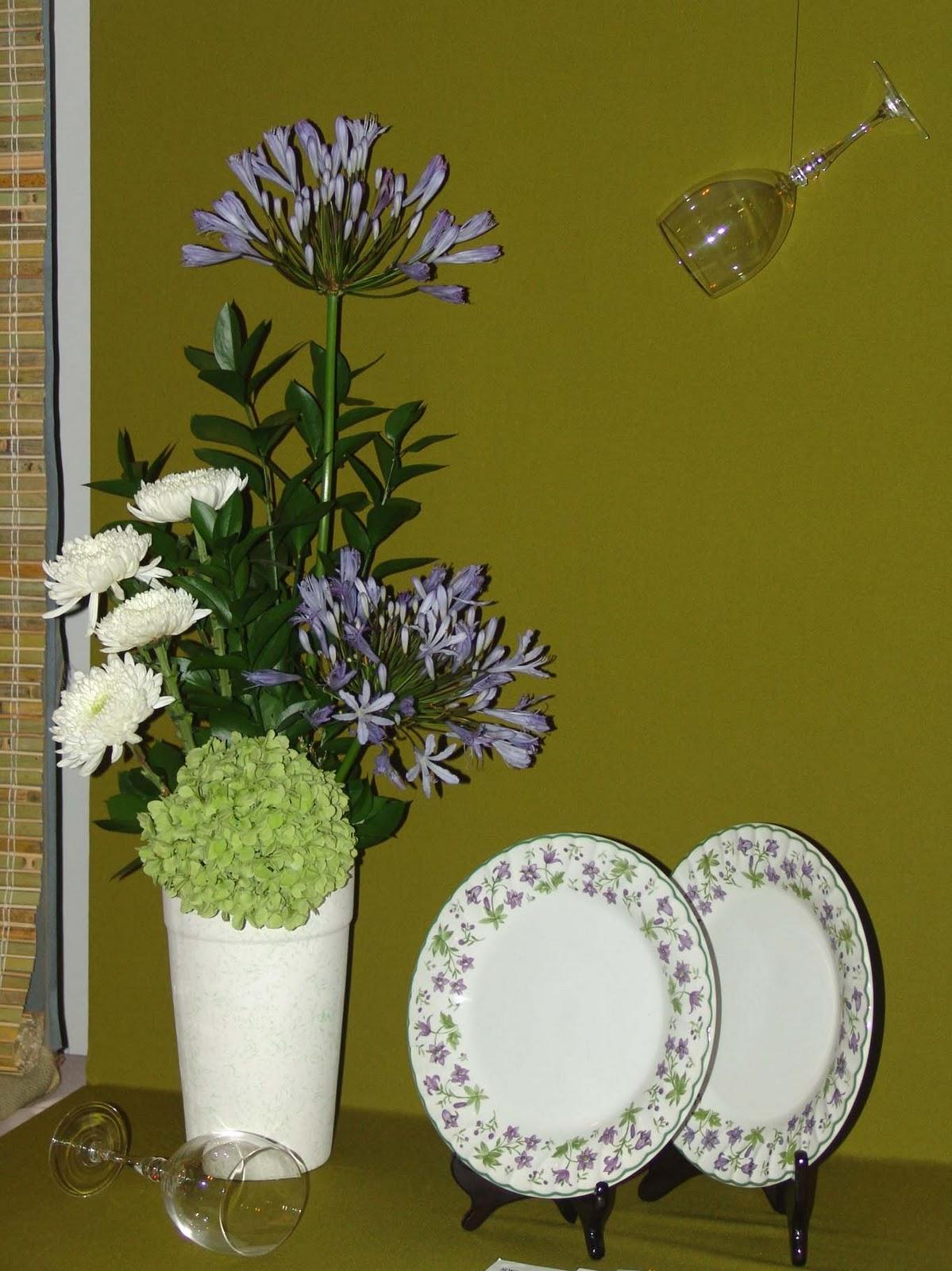 Arreglos florales creativos mesa de exhibici n tipo i compartiendo - Arreglos florales creativos ...