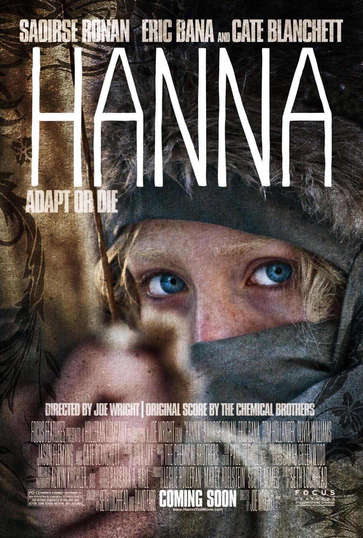 assassin spy movie, Hanna,