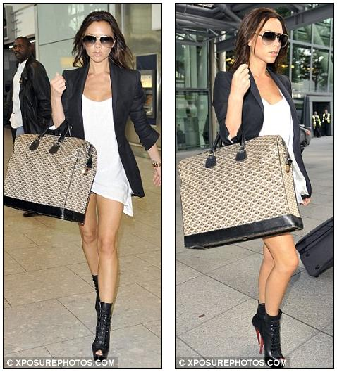 victoria beckham hot pants