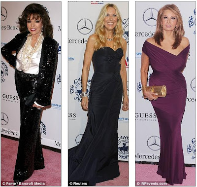 Carousel Of Hope: Jennifer Lopez arrives in floor length gown then
