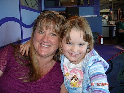 January 2008 - 240 pounds (with niece Kaleigh)