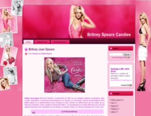 Britney Spears Candies blogger