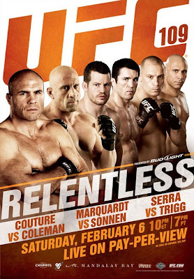 UFC 109 pay-per-view