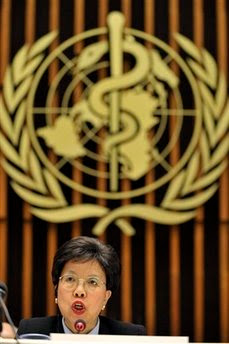 Margaret Chan, told the Financial Times beware of the second wave.