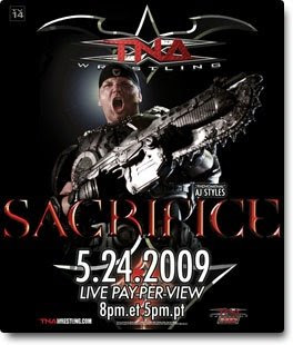 Watch TNA Sacrifice 2009 live stream online free at Super TV 4 PC.