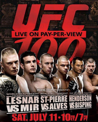 Watch UFC 100 free live stream by following the link provided.