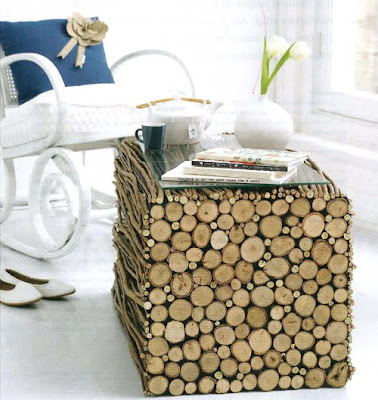 DIY Rustic Wood Table
