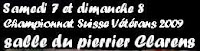 Ch. Suisse VETES - nov. 09