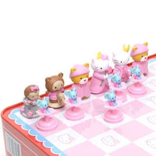 The streatham brixton chess blog chess for girls - Hello kitty chess set ...