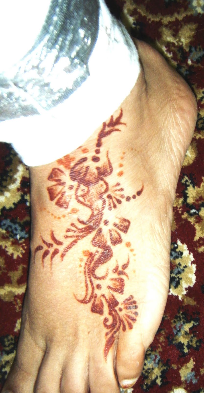 Professional Henna Artist Henna Design At Gerrard Fair 2010