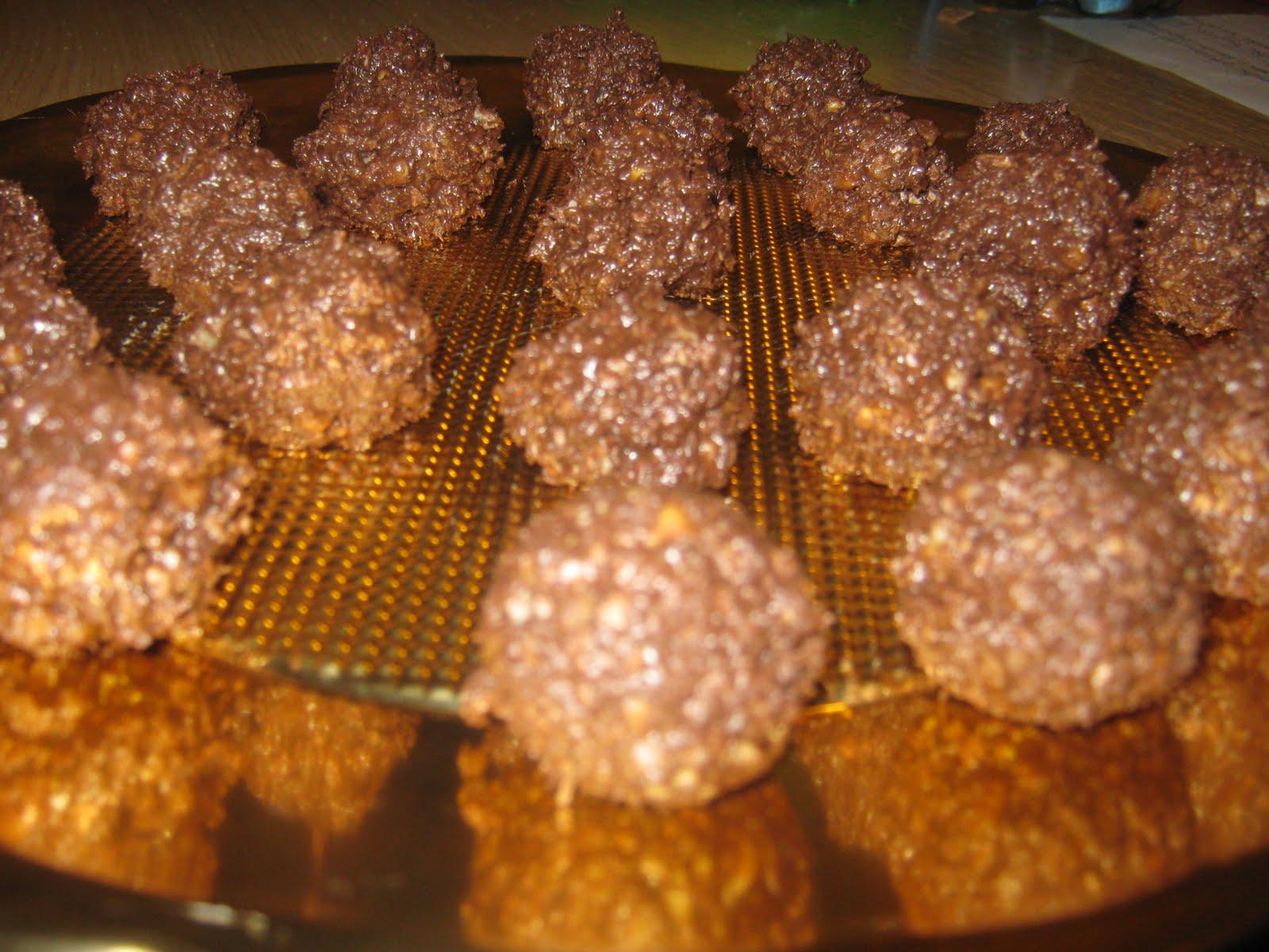 Mangiabevistudia baci al cioccolato fai da te - Bagno di cioccolato ...