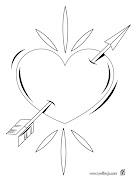 de Amor para colorear dibujos de amor corazones colorea