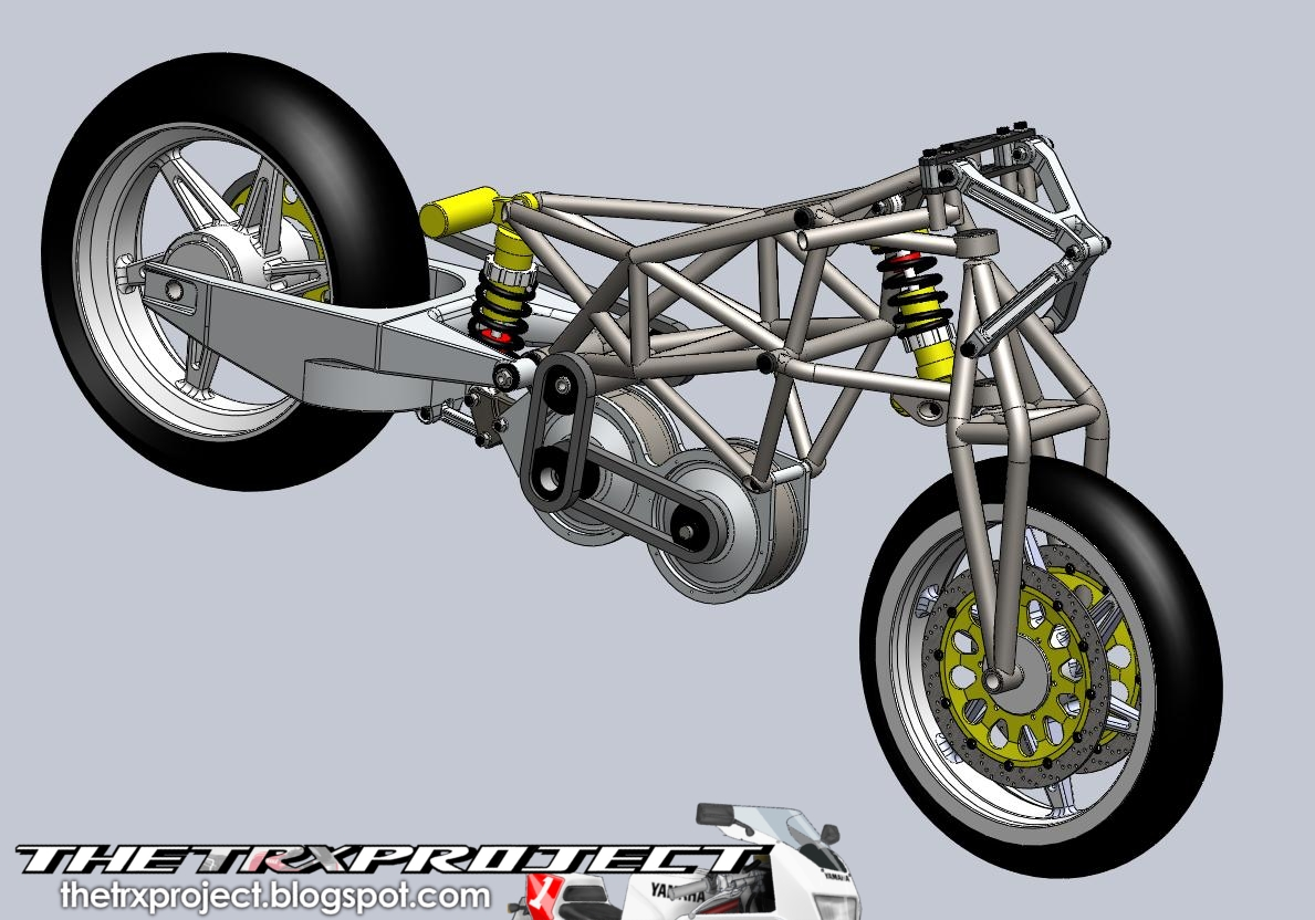 The trx project the yamaha trx 850 blog ben murphy s for Suspension design